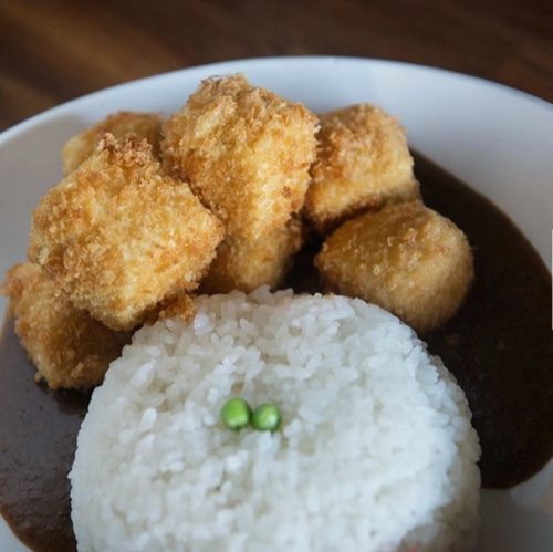 BREADED TOFU CURRY