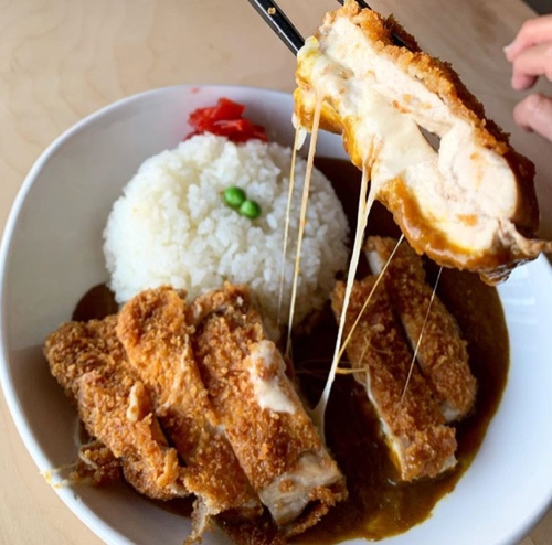 CHEESY TONKATSU CURRY