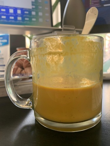 Apricot Turmeric Soy Chai
