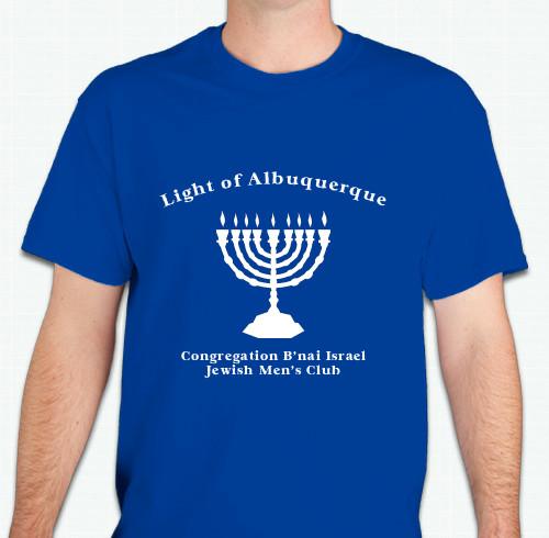 Chanukah - Light of Albuquerque T-Shirt