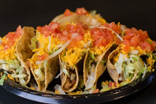SIX PACK OF TACOS