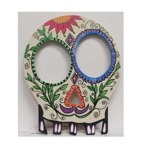 Sugar Skull Door Greeter
