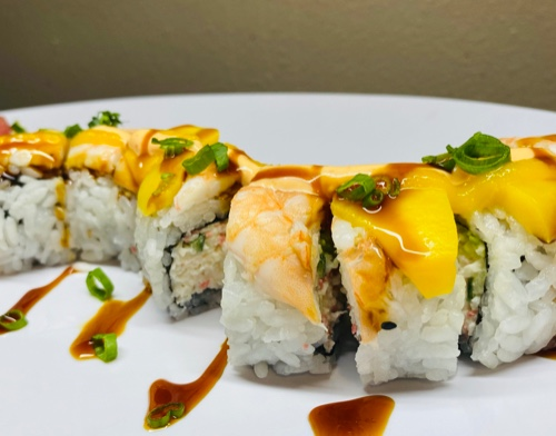 Mango Shrimp Roll