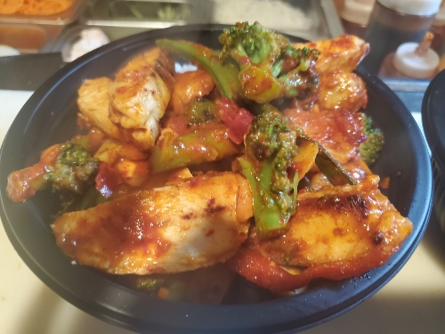 Ghost Pepper Chicken Teriyaki Bowl