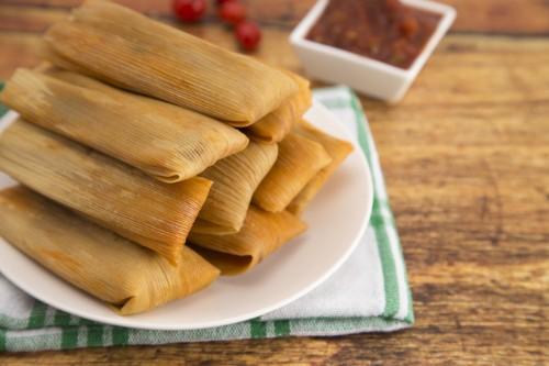 1/2 dozen Tamales FROZEN