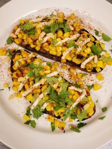 Avocado Toast w/ Elotes