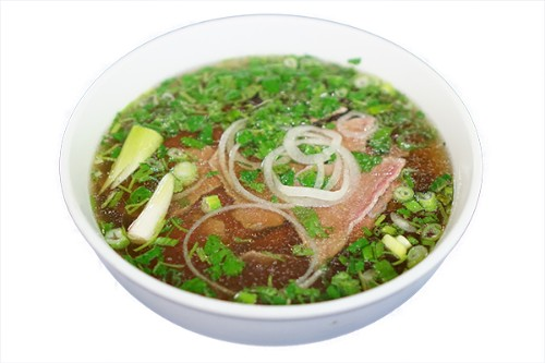 #25-Rare Steak Noodle Soup - Phở tái