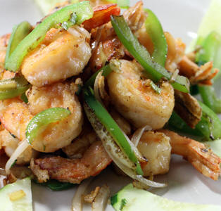 #65-Sautéed or fried shrimp or squid - Mực hoặc tôm