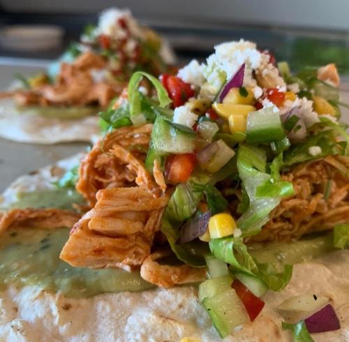 Chipoltle Chicken Taco Platter