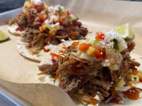 Single Hawaiian Style Pork Taco