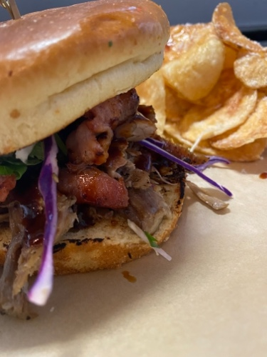 Chipotle bbq Pork Sandwich