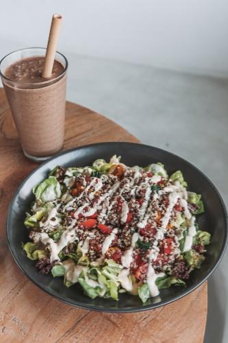 Small Kinoa Salad