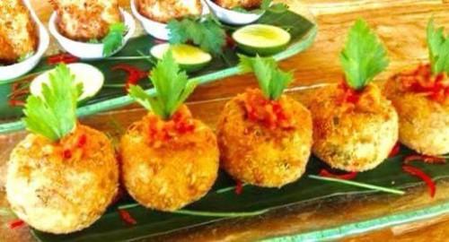 Vegan Sweet Potato & corn balls