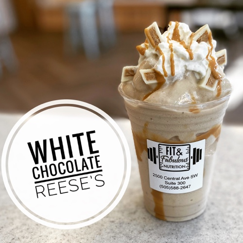 White Chocolate Reese's