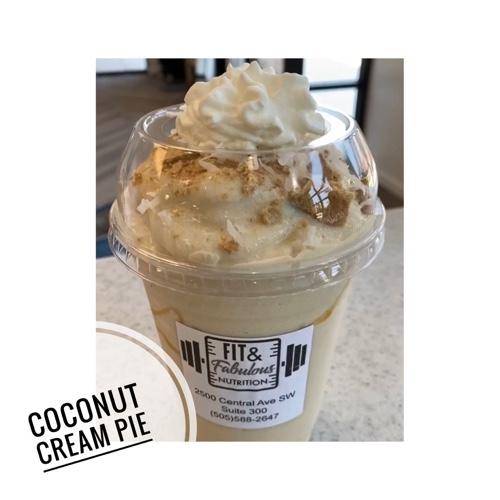 Coconut, Cream, Pie