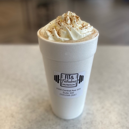 Choose your latte flavor