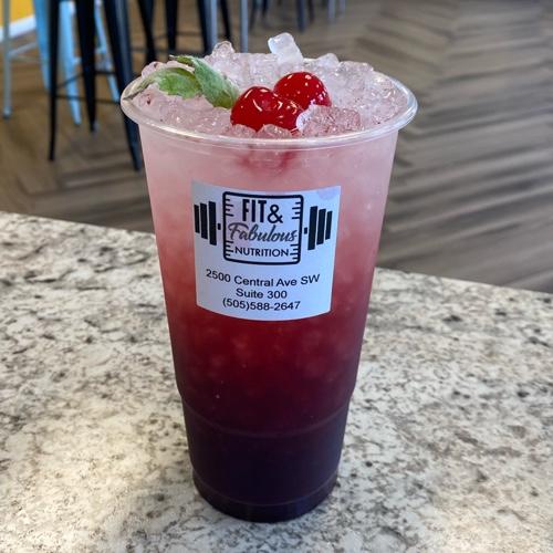 Cherry Blackberry Spritz