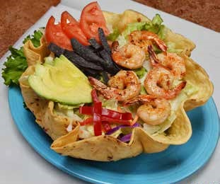 D/I New Mexico Shrimp Salad