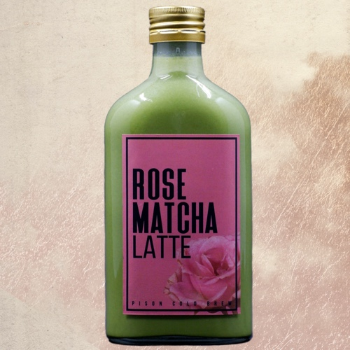 Rose Matcha Latte