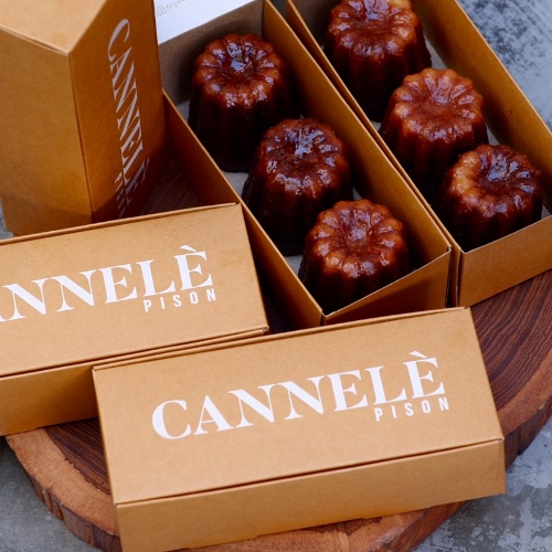 Cannelè ( 1 Box - 3 Pcs)