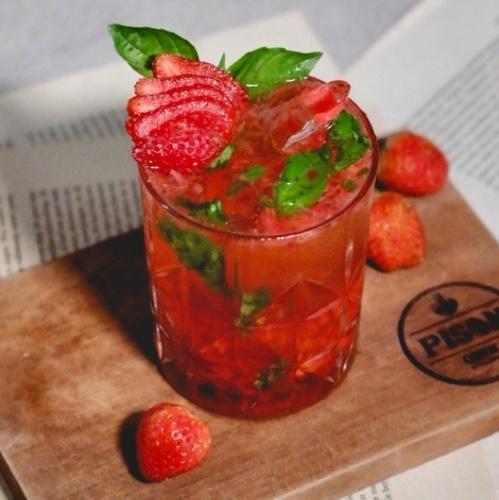 Strawberry Basil Smashed