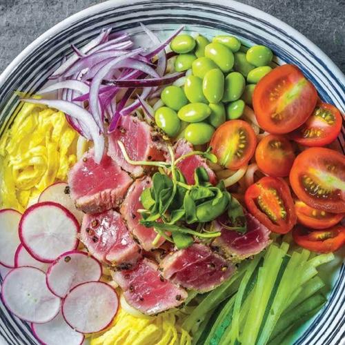 Tuna Yuzu Soba Salad