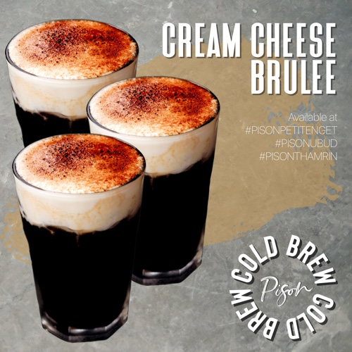 Cream Cheese Brulee Cold Brew