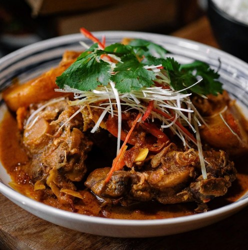 Singaporean Oxtail Curry