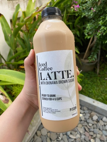 1000ml - Iced Latte With Okinawa Brown Sugar