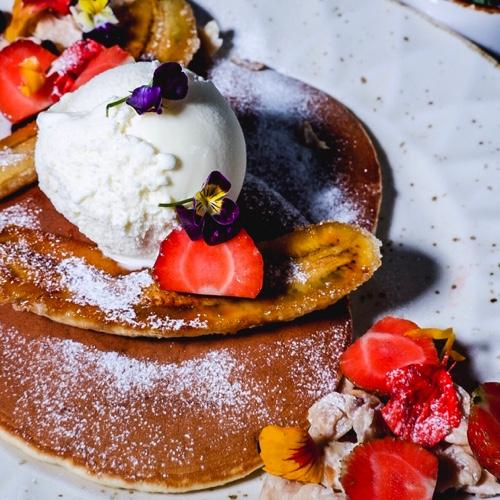 Old-Fashioned Buttermilk Pancake