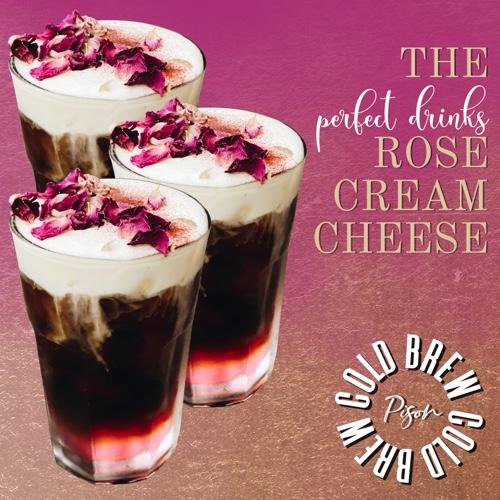 Rose Cream Cheese Cold Brew