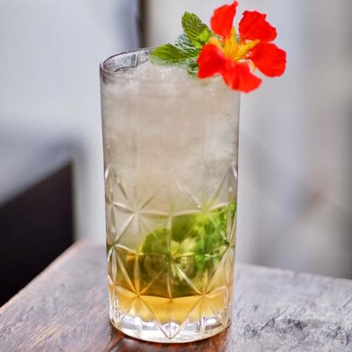 Honey Whiskey Mojito