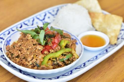 Spicy Basil Chicken / Tofu