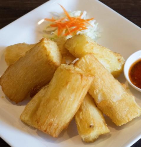 Fried Cassava / Singkong Goreng ( Holand Su )