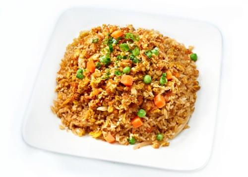 Crab Meat Fried Rice / Nasi Goreng Kepiting