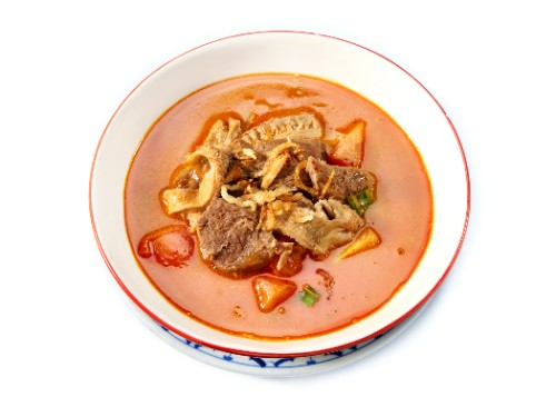 Indonesian Beef Soup / Soto Betawi