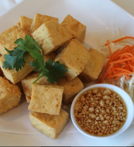 Fried Tofu / Tahu Goreng
