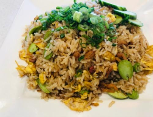 Stinky Beans Fried Rice / Nasi Goreng Pete