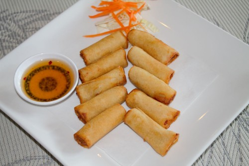 Mini Shrimp Roll / Lumpia Udang (10 Pcs)