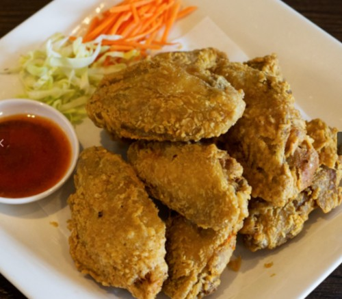 Crispy Chicken Wings / Sayap Ayam Garing (8 Pcs)