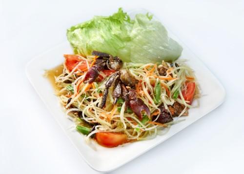 Papaya Salad / Salad Pepaya