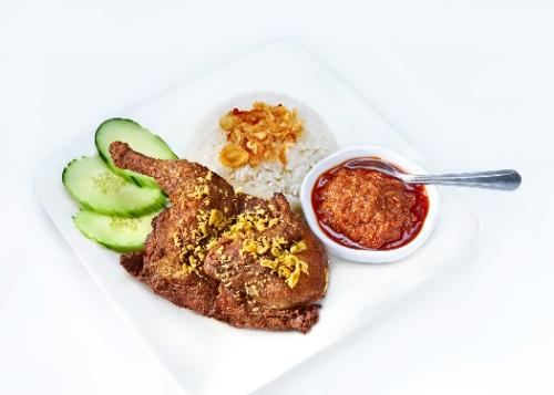 Fried Young Chicken / Ayam Goreng ABG (Uduk)