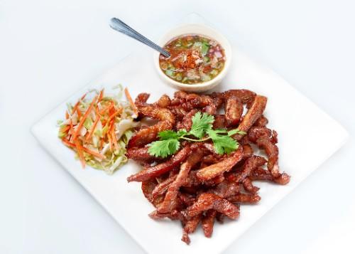 Pork Jerky Thai Style / Babi Goreng Kering