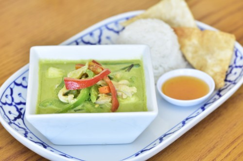 Green Curry Beef, Tofu or Chicken