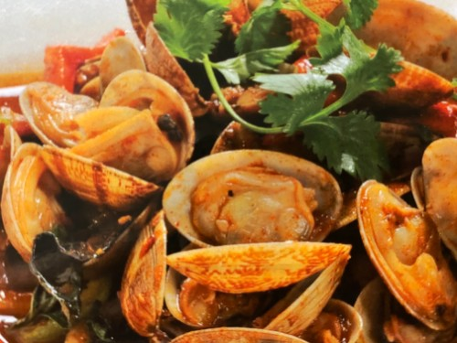 Clams with Chili Sauce