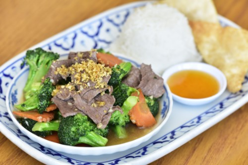 Broccoli with Beef or Tofu