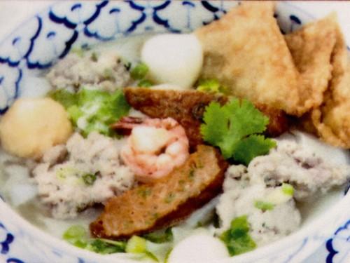 Chiu Chow Noodles Soup