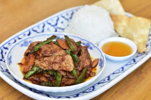 Prik King Pork or Tofu