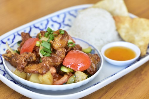Sweet and Sour Pork or Tofu