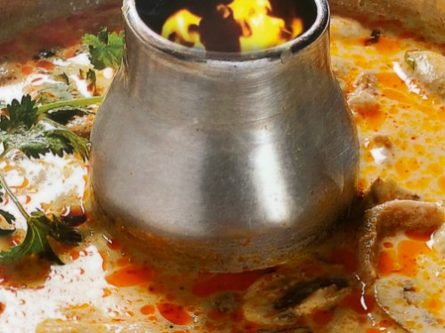 Tom Ka Kai (Chicken Coconut Soup)